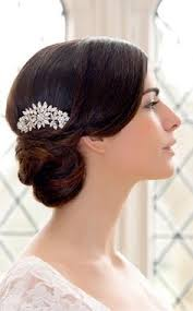 Side Chignon Gatsby Glamour
