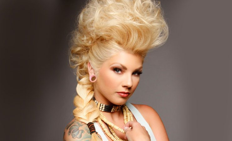 18 Creative And Unique Wedding Hairstyles For Long Hair: Unique Wedding Hairstyle For Medium Hair
