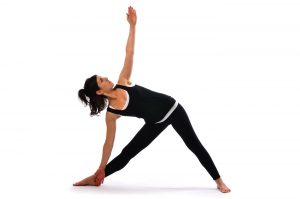 Yoga Pose 3 - Extended Triangle